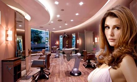 Haarschnitt inkl. Pflegepaket für alle Haarlängen und Prosecco bei Jana Hair Class (bis zu 56% sparen*)