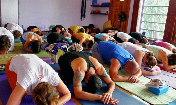 Prana Yoga - Coral Gables: Five Classes or Unlimited Classes for One Month at Prana Yoga (Up to 68% Off)