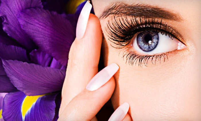 Elfie's Lash & Nails - Mission Industrial: Quickie, Trial, or Full Mink Eyelash Extensions at Elfie's Lash & Nails (Up to 56% Off)