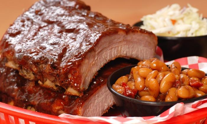 Michael G's Bbq Backyard Grill - Multiple Locations: $28 for $50 Worth of Barbecue — Michael G's BBQ Backyard Grill, Inc