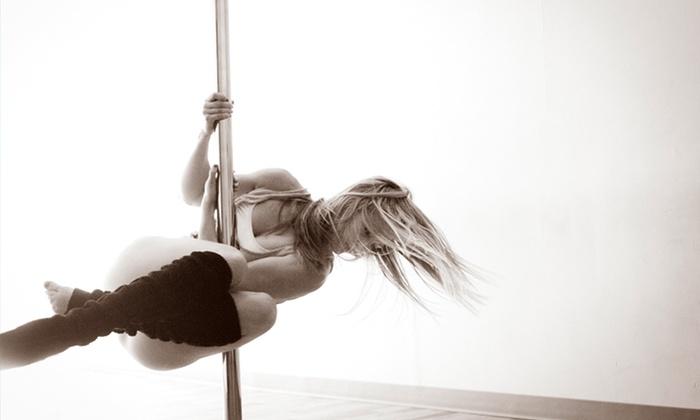 Divine Movement Pole Dancing - Multiple Locations: Pole-Dance Workshop or Six-Week Pole 101 or Boudoir 101 Class Series at Divine Movement Pole Dancing (50% Off)