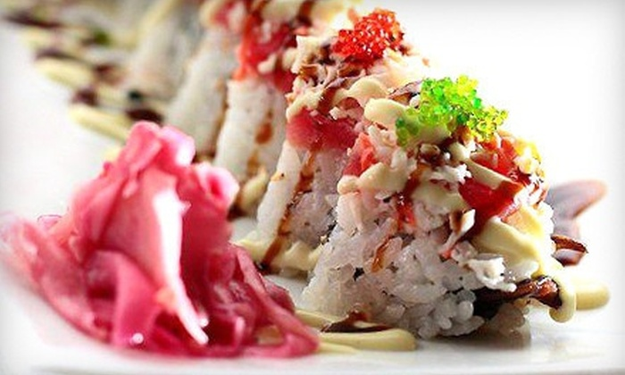 Rumble Fish Sushi Cafe - Shoreline: Sushi and Japanese Cuisine at Rumble Fish Sushi Cafe (Half Off). Two Options Available.