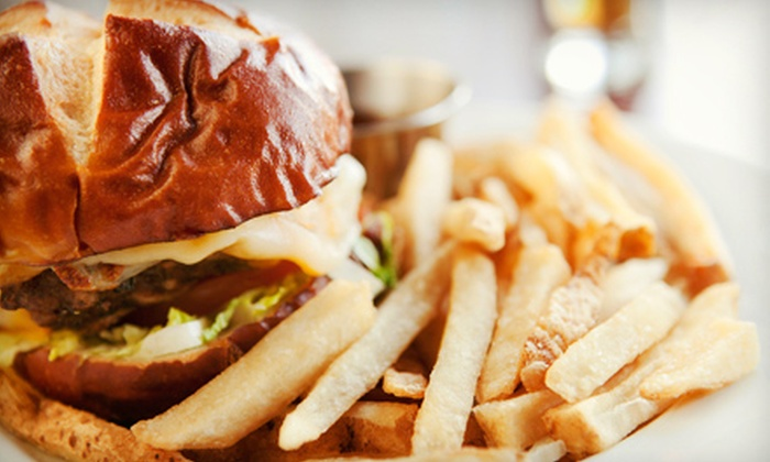 Relish Burger Bistro - Philadelphia: Burgers and American Bistro Food for Two or Four at Relish Burger Bistro (Up to 51% Off). Four Options Available.