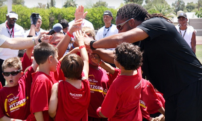 ProCamps Worldwide - Northwest Richfield: $75 for a Two-Day Larry Fitzgerald Football ProCamp on June 26–27 from ProCamps Worldwide in Richfield ($149 Value)
