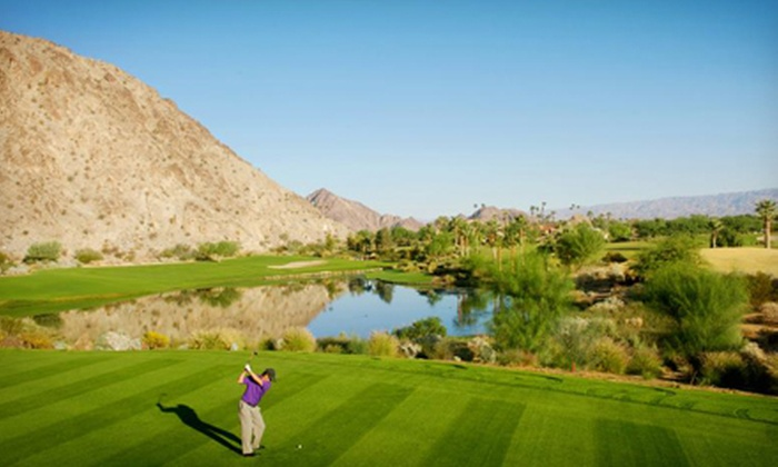 SilverRock Resort - La Quinta: 18-Hole Round of Golf for Two or Four Including Carts at SilverRock Resort (Up to 52% Off)