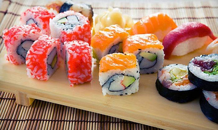 Asia Grill & Sushi - Mansfield: Sushi Dinner for Two or Four at Asia Grill & Sushi (Up to 54% Off)