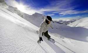 Blue Valley Ski Rentals: One or Two Ski or Snowboard Rentals, or Ski or Snowboard Tune-Up at Blue Valley Ski Rentals (Up to 40% Off)