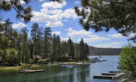 Rustic Cabins Along Big Bear Lake