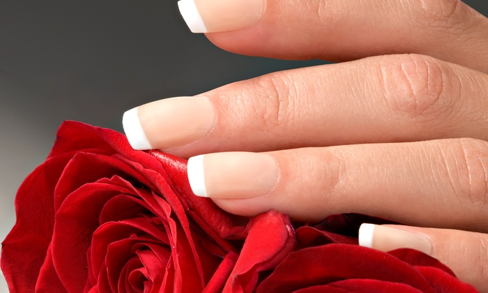 Ageless Spa & Boutique - Polo Park Area: 1 or 3 Shellac French Manicures or 1 Shellac French Manicure with Paraffin Wax at Ageless Spa & Boutique (Up to 52% Off)