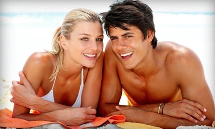 Circuit Spa - Henderson: Two Spray Tans, Organic Teeth Whitening, or One Spray Tan and Organic Teeth Whitening at Circuit Spa (Up to 55% Off)