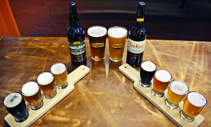 The Phoenix Ale Brewery - Central City: $16 for Beer-Flight Package for Two with Pints, Souvenir Glasses, and Bottles at The Phoenix Ale Brewery ($33 Value)