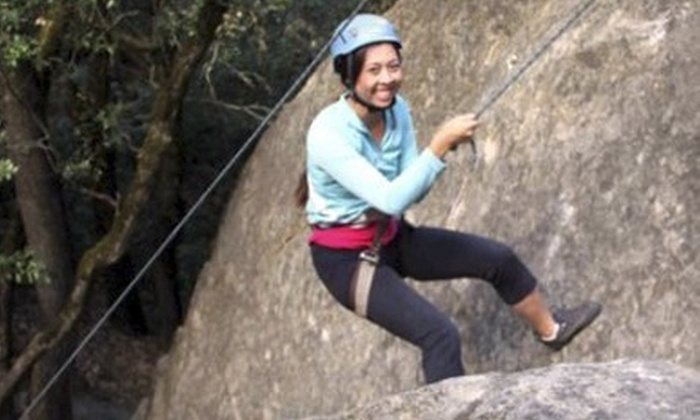 Treks and Tracks - Multiple Locations: $49 for a Four-Hour Intro Outdoor Rock-Climbing Class from Treks and Tracks (a $105 Value)
