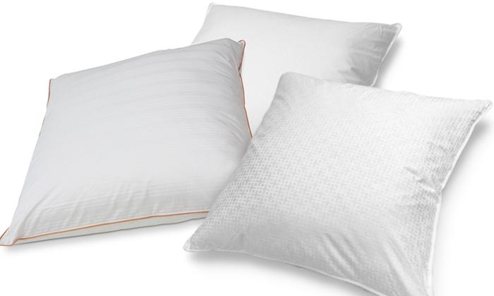 Square european down pillows groupon goods for Cheap european pillows