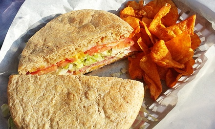 $14 for a Sandwich Meal for Two with Brownies, Chips, and Drinks at The Ord's ($22 Value)