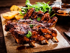 CHARLIEBOY'S  BBQ & SEAFOOD: $15 for $27 Worth of Spare Ribs — CharlieBoy's BBQ & Seafood