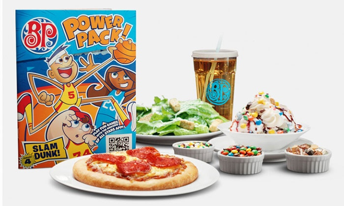 Boston Pizza  - Kingston / Belleville: C$5 for Five Kids Meals with Purchase of Adult Meals at Boston Pizza (Up to C$35 Value)