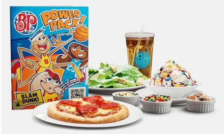 $5 for a Kids Card for Five Kids Meals with Purchase of Adult Meals at Boston Pizza (Up to $35 Value)