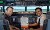 Flight Experience - Burlington: 60- or 90-Minute Flight-Simulator Session at Flight Experience  at Flight Experience Boston (Up to 48% Off)
