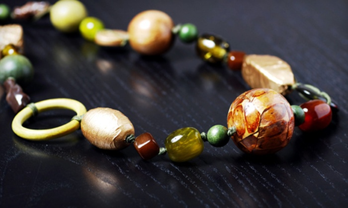 Birdstone Bead Studio - Minnetonka - Hopkins: Beading Instruction for Two, Four, or Six or a Two-Hour Class for Two at Birdstone Bead Studio in Excelsior (Up to 54% Off)