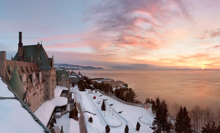 1-Night Stay for Two with Dining, Spa, and Casino Credits at Fairmont Le Manoir Richelieu in La Malbaie, QC