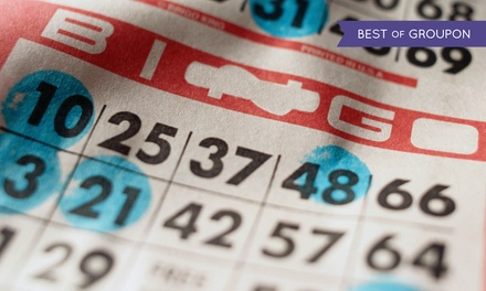 $15 for Bingo With One Dauber at B&G Bingo ($31 Value)