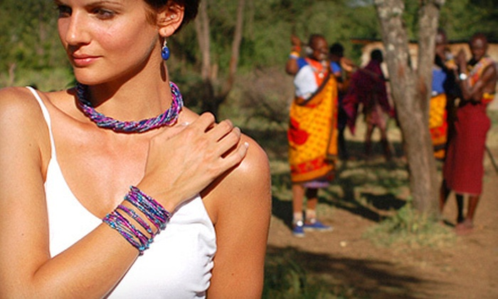 The Leakey Collection: $25 for $50 Worth of Handmade African Jewelry from The Leakey Collection