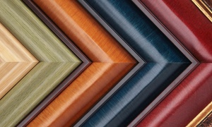 Masterpieces Fine Art & Custom Framing: $31 for $120 Toward Custom Framing at Masterpieces Fine Art & Custom Framing