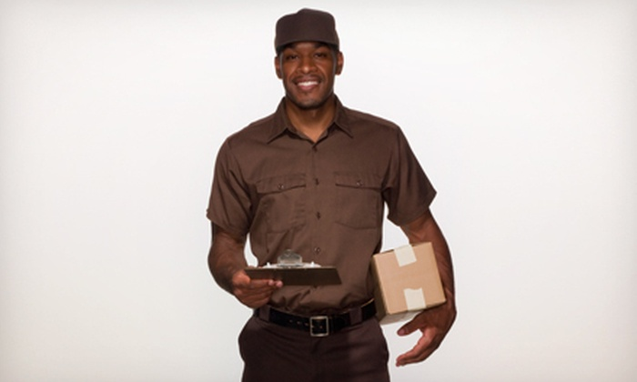 The UPS Store - Multiple Locations: Packing Supplies and Shipping Services at The UPS Store (Up to 55% Off). Two Options Available.