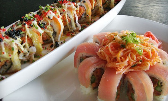 Miyagi's Japanese Restaurant - Keystone at The Crossing: $15 for $30 Worth of Sushi and Japanese Cuisine at Miyagi's Japanese Restaurant