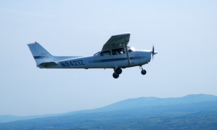$103.99 for a Flight-Lesson Package with Ground, Simulator, and Plane Instruction ($198Value)