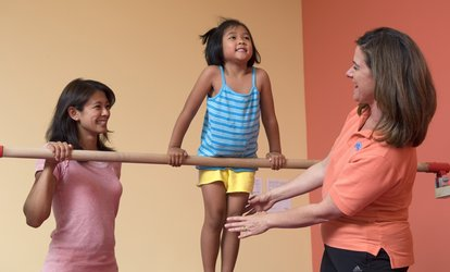 image for One-Year Family Membership with Three Weeks of Classes for One or Two Kids to The Little Gym (60% Off)