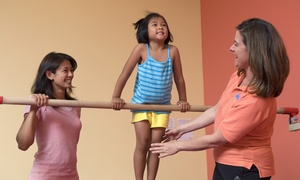 The Little Gym: One-Year Family Membership with Three Weeks of Classes for One or Two Kids to The Little Gym (62% Off)