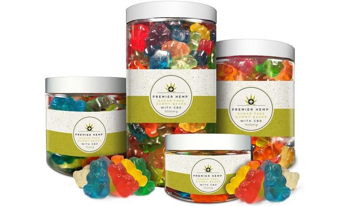 Up To 55% Off on Sugar-Free CBD Gummy Bears | Groupon Goods