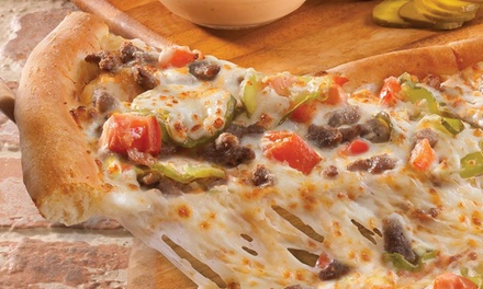 One or Three Large Pizzas with Breadsticks and Soda at Papa John's Pizza (Up to 57% Off)