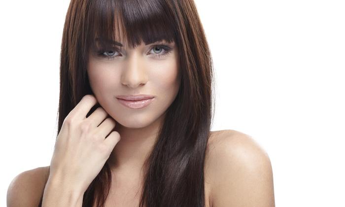 Melina hair and make up studio - Melina hair and make up studio: Keratin Straightening Treatment from Melina  hair and make up studio (61% Off)