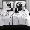Adrienne Embroidered Comforter Set (7-Piece)