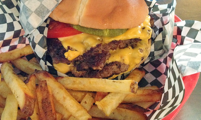 Surf Burger - Pensacola Beach: $11 for $20 Worth of Burgers, Home-Cut Fries, and American Food at Surf Burger