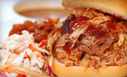 Barbecue and Beer for Two or Four at Randy's House of Bar-B-Que (Up to 52% Off)