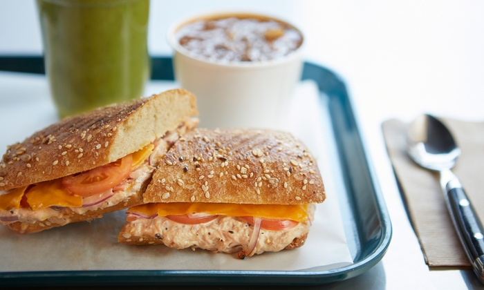 Fresh From Hell - Clinton: Three or Five Groupons, Each Good for $6 Worth of Fresh Sandwiches and Juices at Fresh From Hell (50% Off)