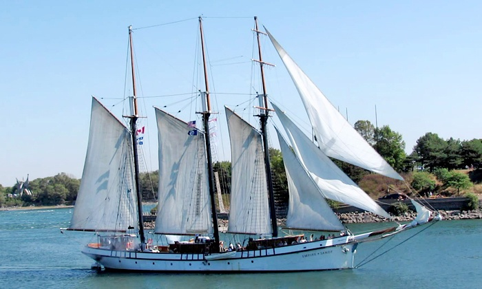 Nautical Adventures - Nautical Adventures: Dinner Cruise, Canada Day Sail, or Afternoon Sail for Two from Nautical Adventures (Up to 44% Off)