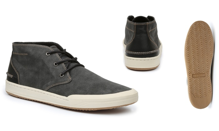 Men's Izod Canvas Chukka Boots | Groupon Goods
