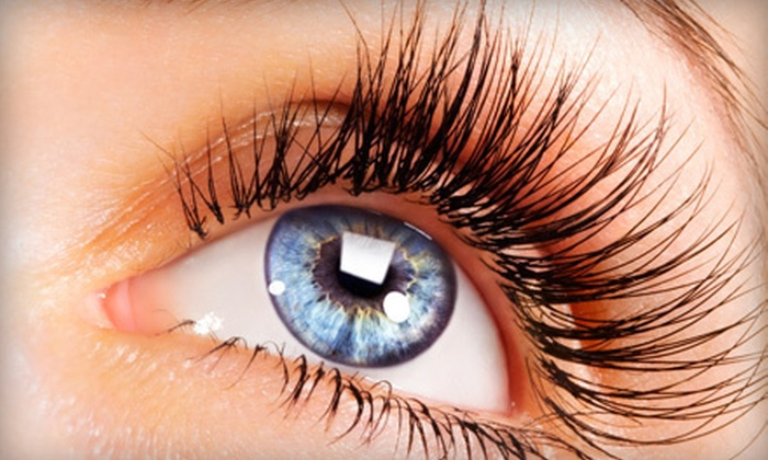 Fame Lashes - University Heights: Full Set of Eyelash Extensions with 45, 55, or 60+ Lashes Per Eye at Fame Lashes (Up to 83% Off)