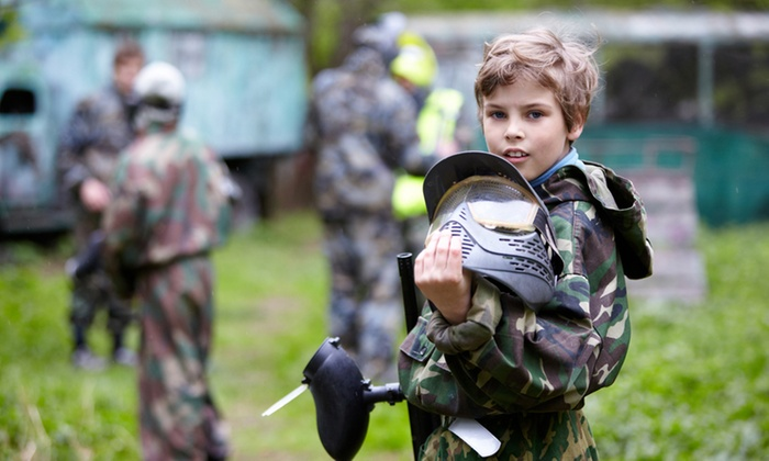 Midway Paintball - Vacaville: $35 for a 90-Minute Paintball Party with Equipment for Up to 10 Kids at Midway Paintball ($109 Value)