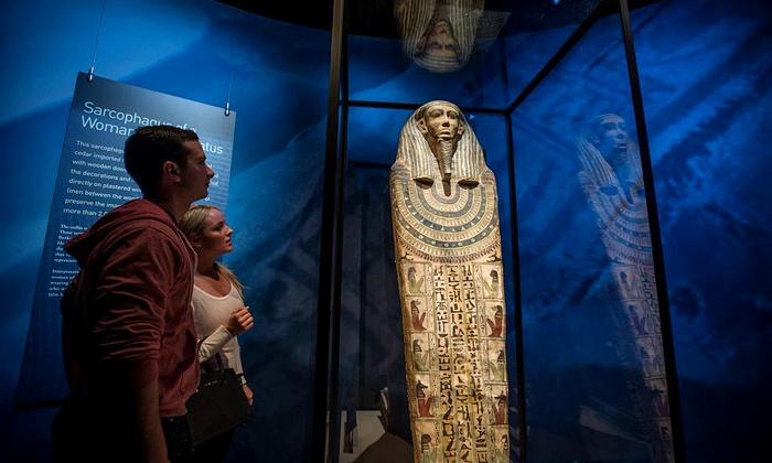 "Cincinnati Museum Center - Cincinnati Museum Center at Union Terminal: ""Mummies of the World"" with Audio Tour for Two at Cincinnati Museum Center at Union Terminal (Up to 42% Off)"
