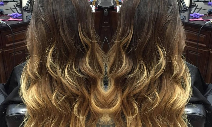 Hair by Madison - Multiple Locations: Color and Blow-Dry from Hair by Madison (55% Off)