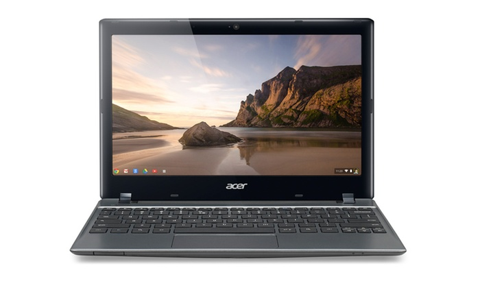 """11.6"""" Acer Chromebook with a SSD (C710-2856): $164.99 for an 11.6"""" Acer Chromebook (Refurbished) (C710-2856) ($228 List Price). Free Shipping and Returns."""