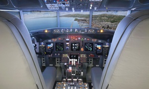 Flight Sim Center: Esperienza di volo fino ad un'ora e 40 minuti con simulatore Boeing 737 da Flight Sim Center (sconto fino a 70%)