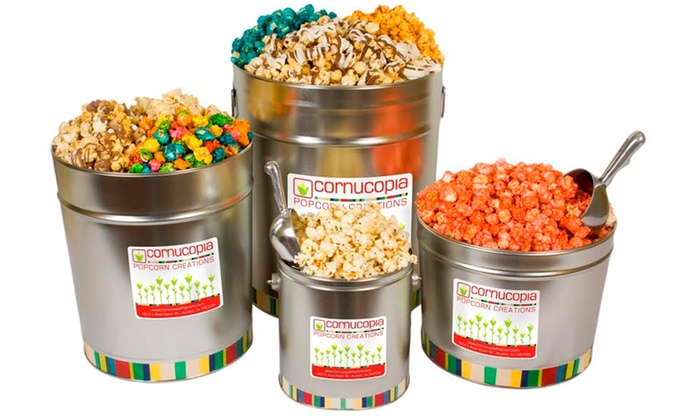 Cornucopia Popcorn Creations - Cornucopia Popcorn Creations: Gourmet Popcorn or Popcorn Event Bundle at Cornucopia Popcorn Creations (Up to 33% Off)