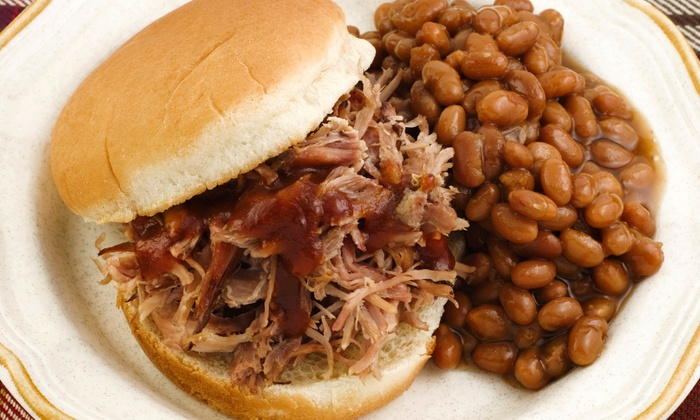 Catawba BBQ & Grill - Belmont: Barbecue for Lunch or Dinner at Catawba BBQ & Grill (Half Off). Two Options Available.
