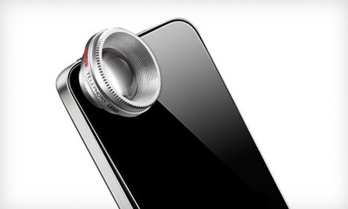 Kodak Telephoto Lenses for Smartphones: $9 for a Kodak Essential Telephoto Lens for Smartphones ($19.99 List Price)